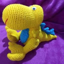 Dino rex amigurumi