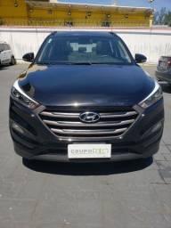 Hyundai New Tucson GLS 1.6 Turbo GDI 25.000KM Unico Dono Completo Teto Rodas 17 Raridade