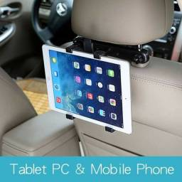 Suporte tablet encosto carro de até 15%