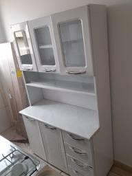 Armário de cozinha aço  ou troco por celular bom