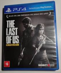 Jogo de PS4 The Last of Us Remasterizado