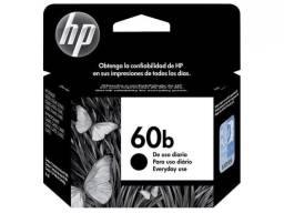 Cartucho de Tinta HP Colorido 60 XL  e Cartucho de Tinta HP 60 B Preto - Original