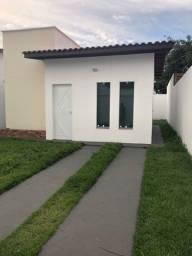 Casas nova no Turu com rua asfaltada