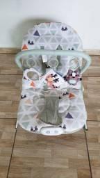 Cadeira De Descanso Bebê Vibra e Toca Musicas Menino Weego