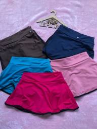 Bazar de short saia