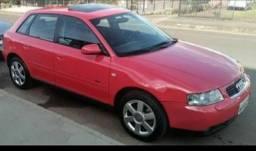 Audi A3 Automático Turbo T vermelho Ano 2004/2005