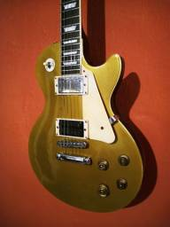 Guitarra Les Paul Gold Top