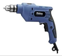 Furadeira e parafusadeira de impacto philco nova 750w
