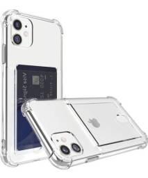 Capa Case Porta Cartão iPhone 11 (6.1)