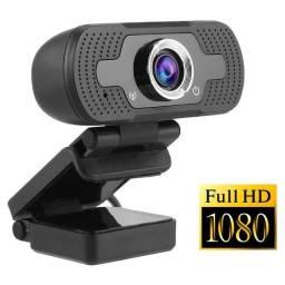 Webcam Microfone Câmera Full Hd 1080p Computador Plug & Play Microfone Embutido