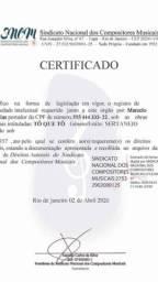 Partituras para execução de obras autorais e registro