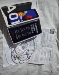 A01 core zero aceito cartão e pix