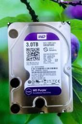 HD 3 terabyte SATA WD Purple oportunidade