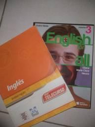 2 livros em inglês
