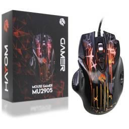 Mouse Gamer Com Fio 2400DPI Hayom MU2905 - Loja Dado Digital
