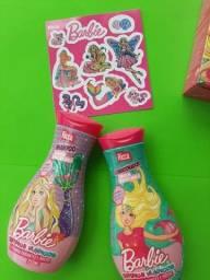 Kit shampoo e condicionador da Barbie Ricca