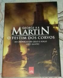 O Festim dos Corvos - As Crônicas de Gelo e Fogo - Vol. 4 - George R. R. Martin - Usado