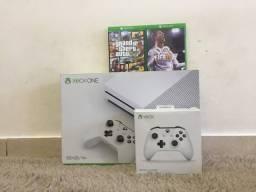 Xbox One S Novo na Caixa