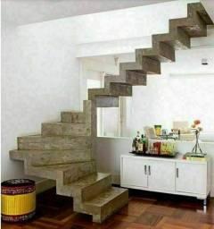 Carpintaria especializada escadas concreto//