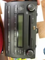 Rádio cd Corolla 2009/2014 - usado pouquíssimo tempo- original