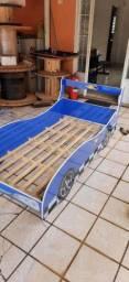 Cama infantil hotwells com colchão