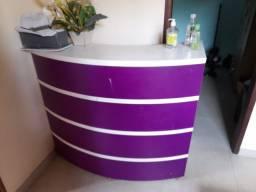 Vendo móveis para salão de beleza completo