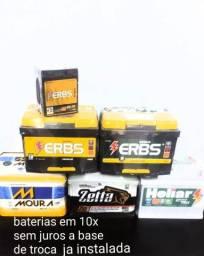 Baterias 180,00 reais