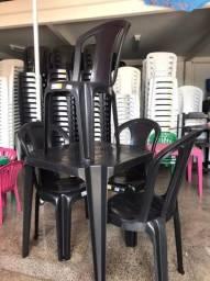 Jogo de Mesa c/4 Cadeiras Bistrô - Reforçadas