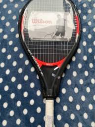 *Raquete de Tênis Wilson Fusion XL* (NOVA) R$250,00