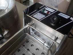 Fritadeiras elétrica cuba em aço inox