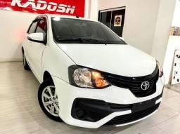 Toyota etios 1.5 x plus 16v flex 4p automatico 2019