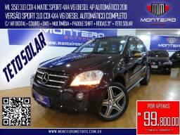 Mercedes-Benz ML350 3.0 CDI 4 Matic Sport 4x4 V6 Diesel 4p Aut Completa C/ Teto Solar