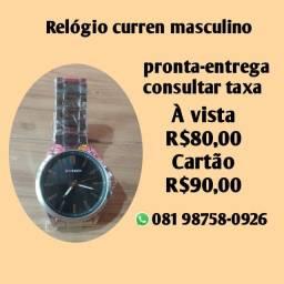 Promoção Relógios Curren masculino