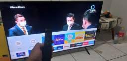 Tv smart  samsung  4k  55 polegadas