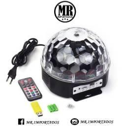 Bola Maluca Com Controle Remoto Bluetooth Mp3 usb sd (entregamos)