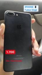 iPhone 7 Plus  obs: tela trincada
