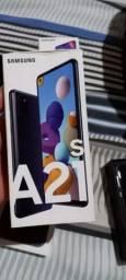 Samsung a21s top