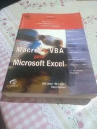 Livro Macros e Vba para Excel