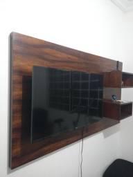 Rack de TV de Madeira Ambuia