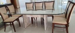 Conjunto Mesa Jantar + 12 Cadeiras