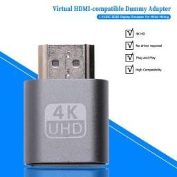 Dummy Plug HDMI 4k  Btc Mineração