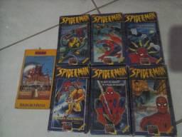 """Edição de colenionador: fitas VHS do Homem Aranha (GRÁTIS o filme """"Matinee"""")."""