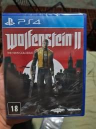 Wolfenstein 2 Ps4 lacrado novo