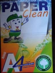 Pacote folhas ofício  PAPER  CLEAN  500 folhas A4
