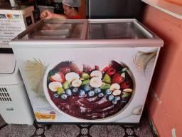 Vendo freezer tampa de vidro