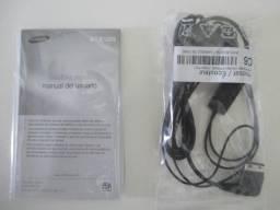 Fone de ouvido e caixas celular Sansung GT-E1205