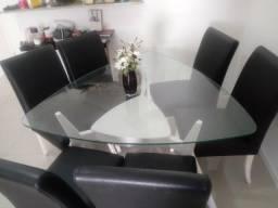 Mesa c/ 6 cadeiras FINO ACABAMENTO