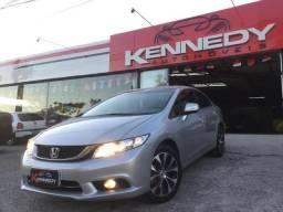 Honda- Civic 2.0 LXR 2016 Impecavel - 2016