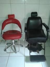 Vendo cadeiras Barbearia / salão