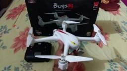 Drone MJX/GPS 1 KM CAM 1080P/Pego Celular